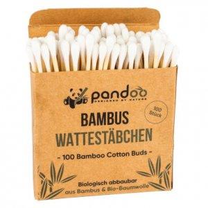 100 Wattestäbchen in Pappschachtel