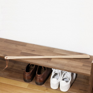 Schuhanzieher aus Holz