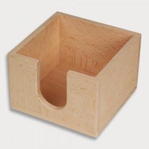Zettelbox aus Holz
