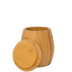 Bambusgefäß mit Deckel